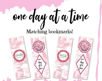 One Day at at Time Bookmarks