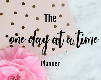 One Day at at Time Planner