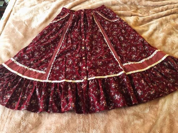 Vintage Valentine Jessica's Gunnies Skirt!