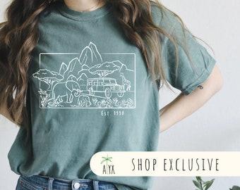 Animal Kingdom Simple Shirt- Comfort colors adult shirt - Disney Safari shirt