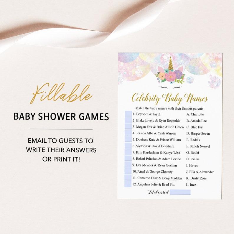 26++ Celebrity baby name game virtual info