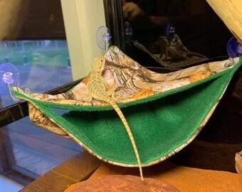 Reptile Triangle Hammock/Hide Hammock - 3 SIZES!