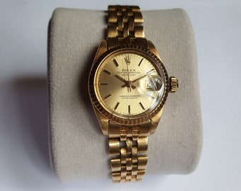 Rolex Oyster Perpetual Datejust 18k Yellow Gold 26mm