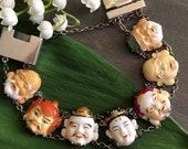The bracelet with the image of seven deities Toshikane Arita