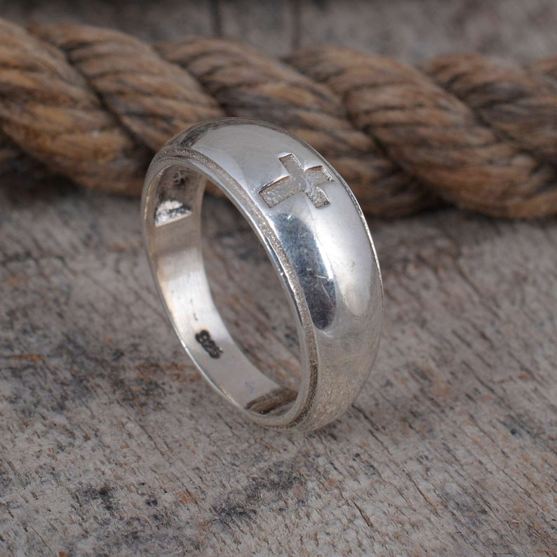 Engraved ring,Bohemian ring,Yoga jewelry,Signet ring,Cross ring,Handmade ring,Sterling silver ring,Signet ring,Christmas ring,Statement ring