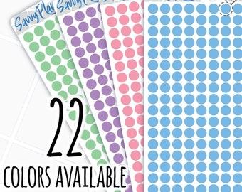 Color Dot Planner Sticker, 116H