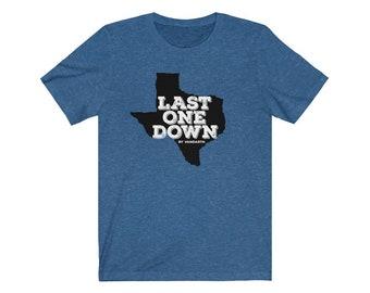 Last One Down by Vandarth Unisex T-Shirt
