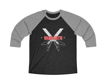 Vandarth V's Unisex Tri-Blend 3/4 Raglan Tee