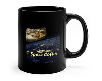 Space Coffin Black mug 11oz