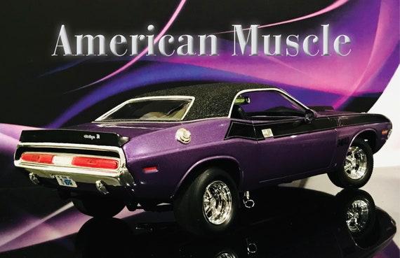 Wall Decor 1970 Dodge Hemi Challenger Hot Rod Vintage Muscle Car Art Print Poste