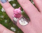 unique spoon Ring, vintage spoon ring, adjustable ring, boho ring, handmade spoon ring, spoon jewelry