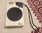 Vintage Transistor Radio AIMA IC-83 Working Condition Bands AM only Batteries 2 x 1,5 Volt Collectible Transistor Radio