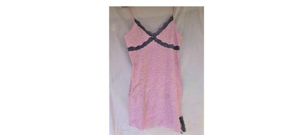 vintage 90's  women's babydoll nightgown, nightdre