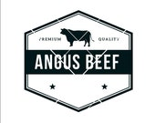 Farm Beef Angus sign picture angus beef for sale cattle beef farm laser cut print design Image ClipArt digital download eps dxf png jpeg svg