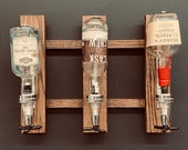 Liquor Wall Mount Dispenser, Alcohol Shot Dispenser, Hanging Liquor Dispenser, Bourbon, Shot, Dispenser