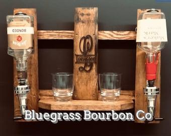 Liquor Display Shelf Shot Dispenser