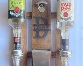 Wall Mount Liquor Dispenser with Bottle Opener