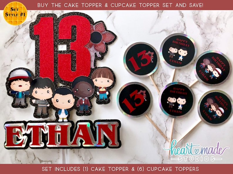 Strange Things Cupcake Toppers Cupcake Toppers