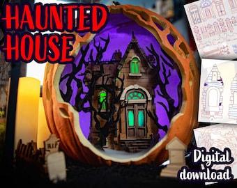 Haunted House Model Kit - Digital Download