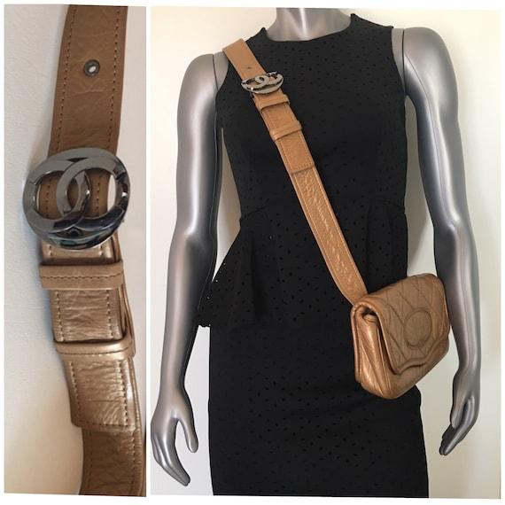 Chanel Lamb Skin Crossbody Bag, Coco Chanel, purse