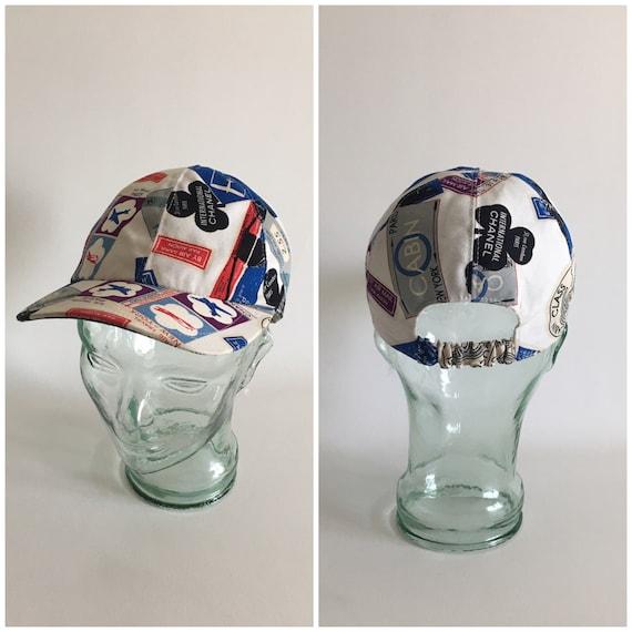 Chanel Vintage Travel Motif Hat, Coco Chanel, cap,