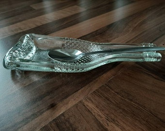 Beautifully Engraved with Short message Commemorative Pewter Wine Bottle dish Lovely special gift
