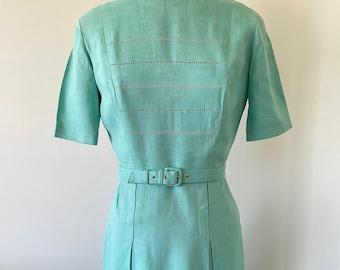 Lovely Aqua Vintage Dress - Small/Medium