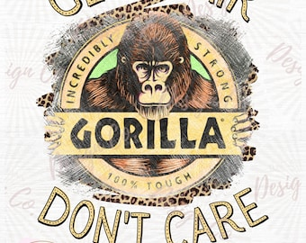 20 oz skinny strait tumbler design Gorilla glue hairspray funny print sublimation PNG