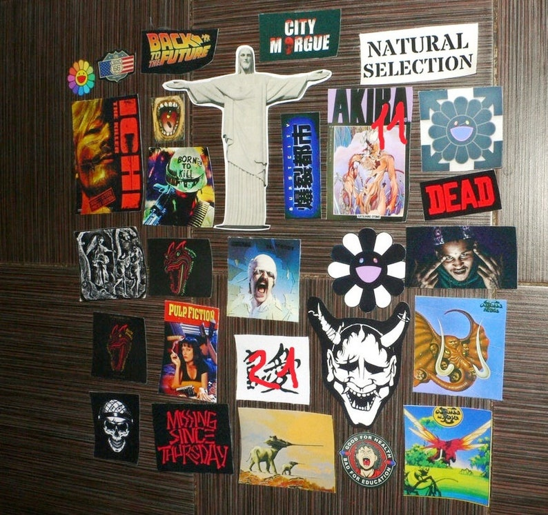 Custom Handmade 28 Patches for jeans