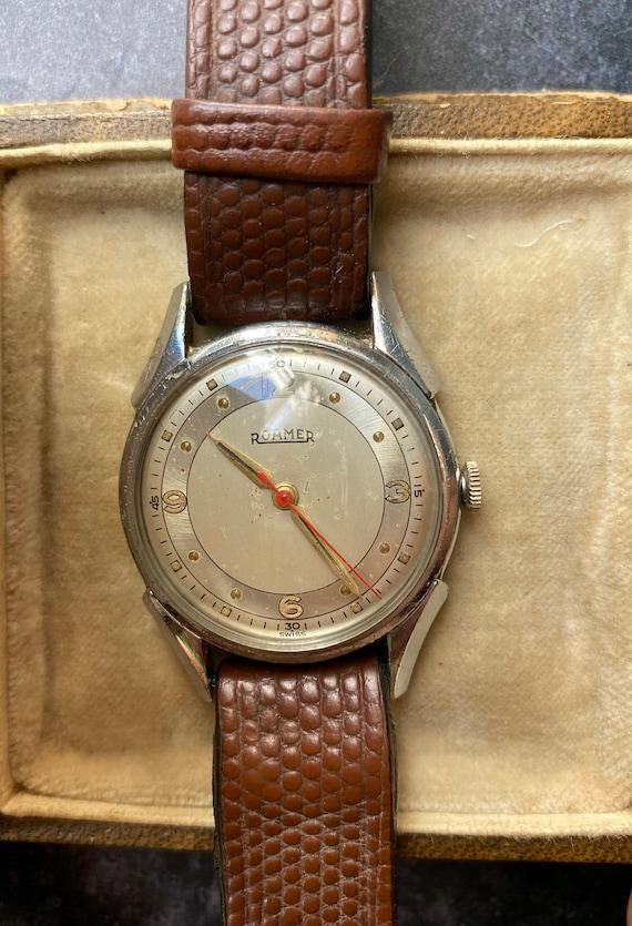 Vintage Roamer Ladies Wristwatch - Swiss Made - 1… - image 3