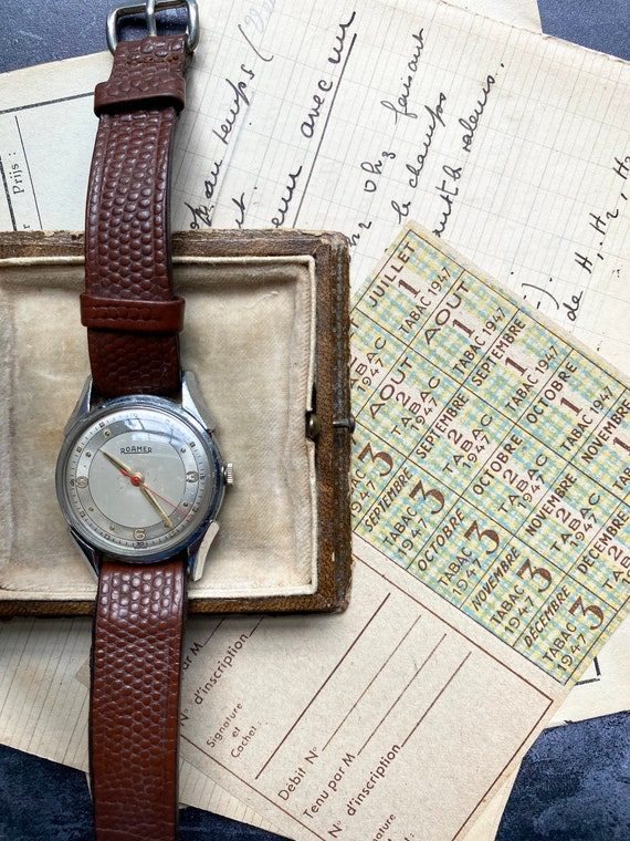 Vintage Roamer Ladies Wristwatch - Swiss Made - 1… - image 2