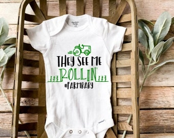 They see me rollin they hatin super funny baby onesie bodysuit unisex
