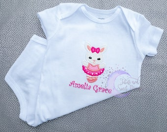 Four Month Five Months Six Months Milestone Bodysuit Shirt Carter Baby Newborn Infant Adorable Embroidered Fawn Deer Outfit Pink Brown
