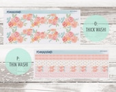 50% Sale! KIT-226 Add-Ons || May Floral Kit Planner Stickers - 2020 Full Kits photo
