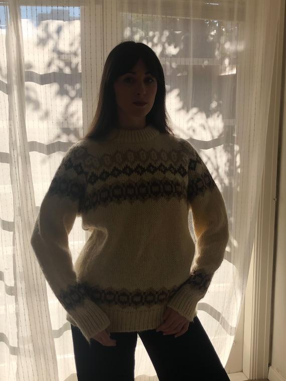 Vintage Icelandic Wool Knit