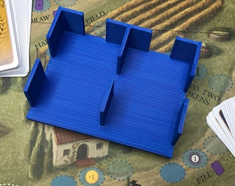 Universal card holder - two mini euro card slots (44x68mm) - Viticulture - Blood Rage - Zombicide and other games - different colors!