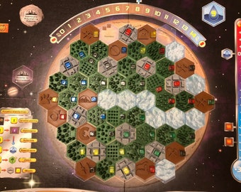 Terraforming Mars - A FULL set of 3D tokens for the base game - experience the conquest of Mars on a completely new level!
