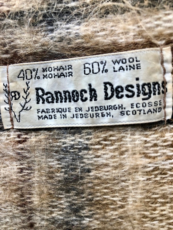 Rannoch Designs Jedburgh, Scotland. 60/40% Mohair/