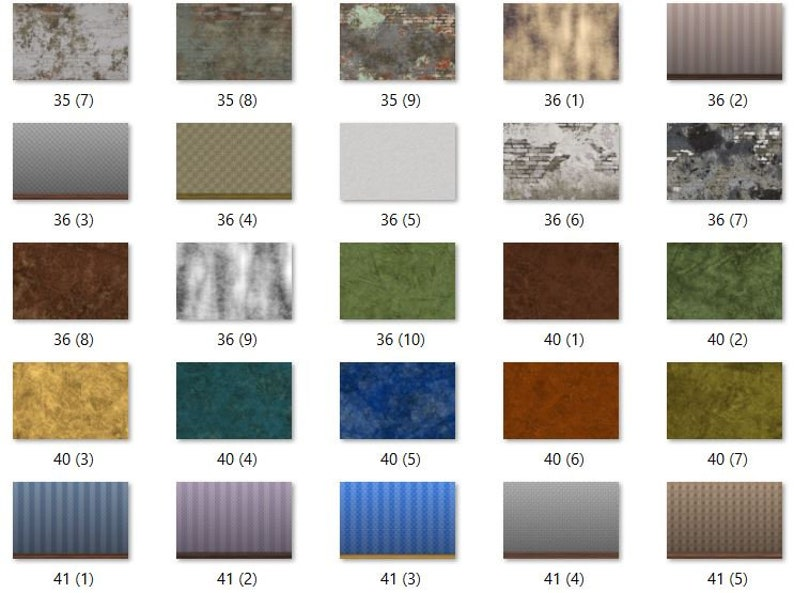 digital download home decor Brick Textures Photoshop Overlays 80 Brick and Wall Texture Overlays for Photoshop wall art Wall Textures