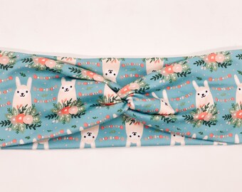 Llama 4 inch Wide Headband