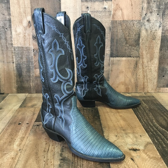 Larry Mahan lizard skin boots