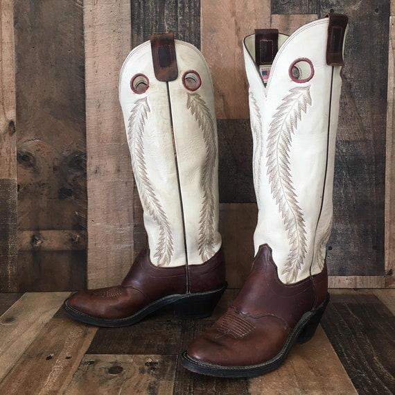 Olathe Buckaroo Cowboy Boots Mens 8.5 d