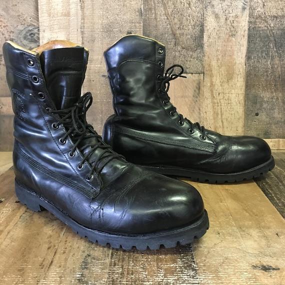 Chippewa Vtg Steel Toe Boots Mens 10
