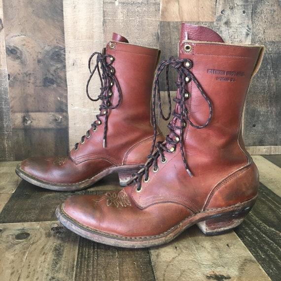 Hawthorne Logger Packer Boots Mens 10 D