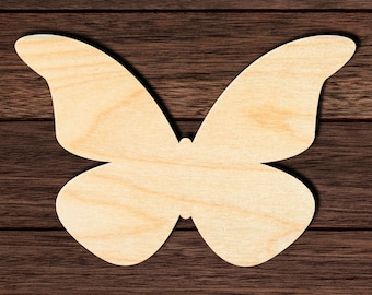 Home Decor Nursery Wall Art Wooden Butterfly Cut Out Unfinished and Available from 2 to 42 Inches Yoga Studio Decor Wall Hanging