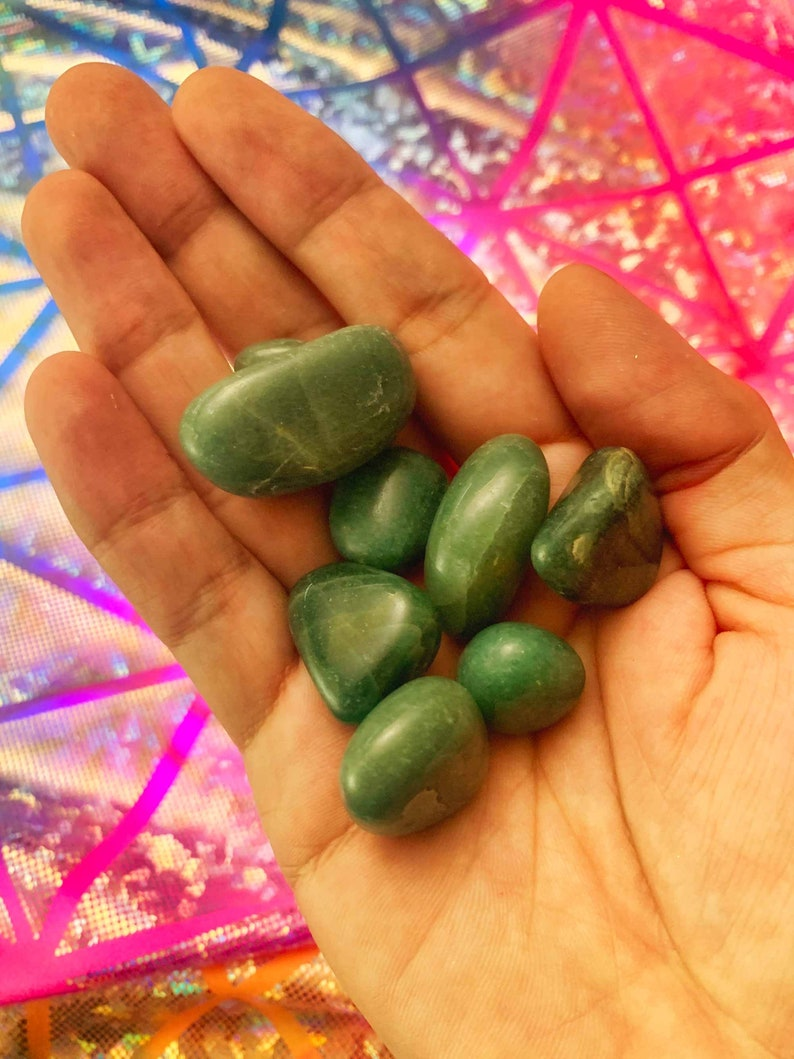 Green Aventurine Tumble Stone image 1