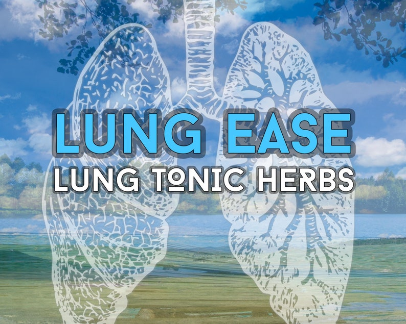Lung Ease  Lung Tonic Herbs image 1