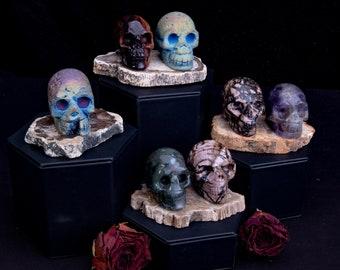 Crystal skulls for ancestral shrines