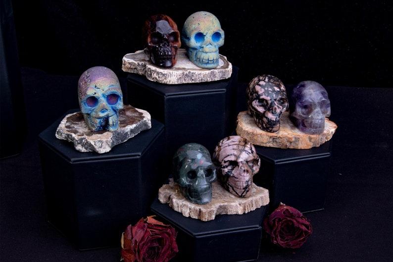 Crystal skulls for ancestral shrines image 1