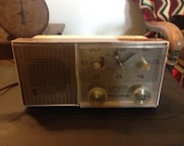 Vintage 1968 Zenith Solid State quot Touch N Snooze quot Clock Radio Model X288M